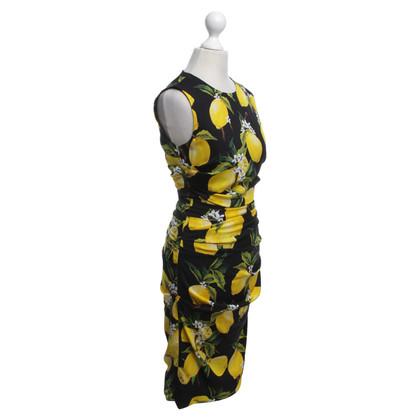Dolce & Gabbana Robe avec motif de citron