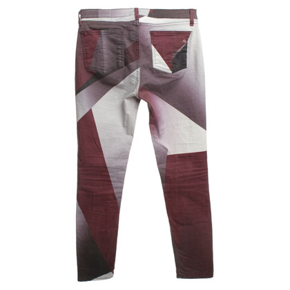 Rag & Bone Patterned broek in Multicolor
