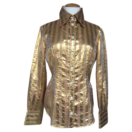 D&G Blouse en couleurs d'or