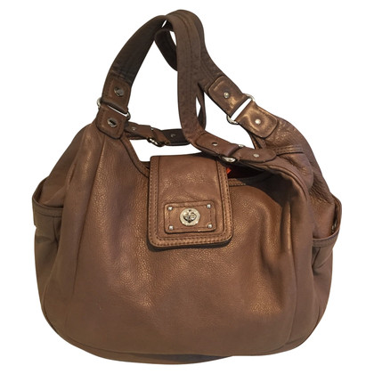Marc by Marc Jacobs Bruin lederen shopper