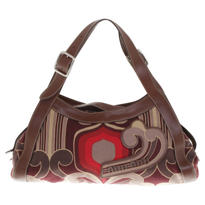 Miu Miu Handbag with hippie pattern