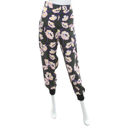 Marni trousers with floral print