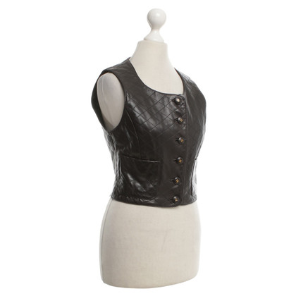 Chanel Quilted leather vest