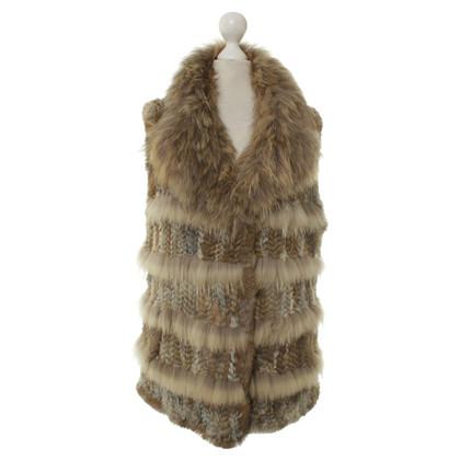 Altre marche Milestone - Gilet di pelliccia