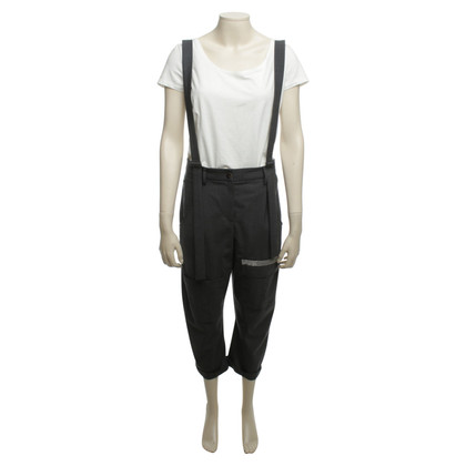 Brunello Cucinelli Pants with suspenders