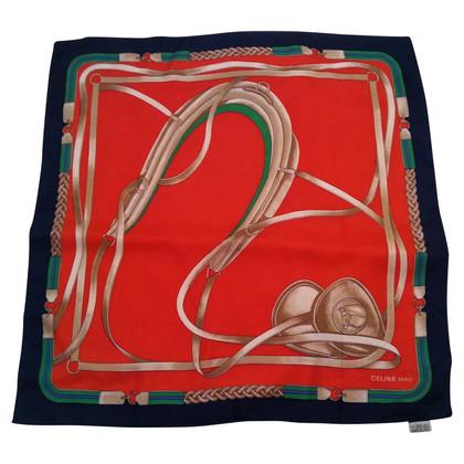 Céline silk scarf