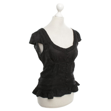 Marc Jacobs Top in nero