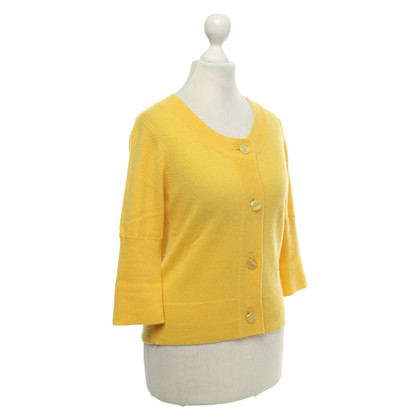 FTC Cashmere sweater in yellow