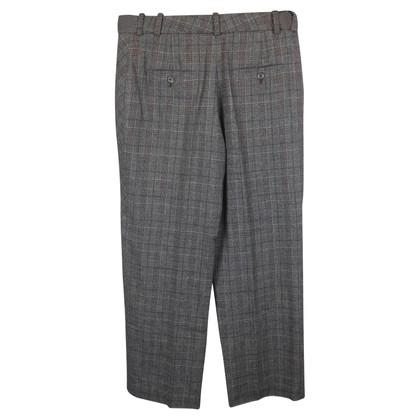 Kenzo Pantaloni con motivo scozzese