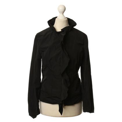 Armani Jeans Lichtgewicht jas in zwart
