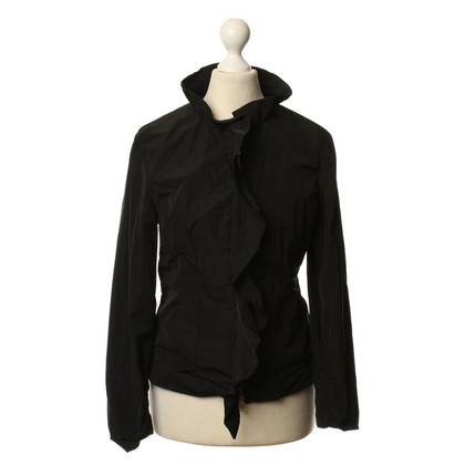Armani Jeans Lightweight jacket in black