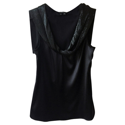 Theory top with sequins