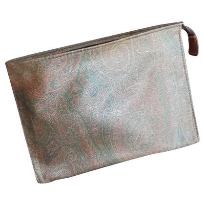 Etro Leather clutch bag