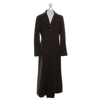 Kenzo Manteau en brun foncé
