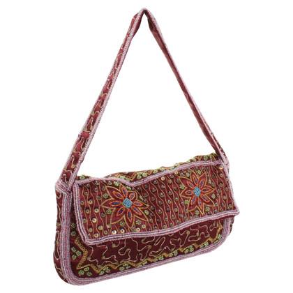 Ella Singh Handtasche mit Schmucksteinen