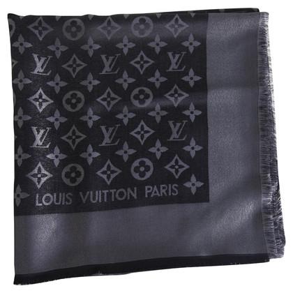Louis Vuitton Monogram-Shine-Tuch in Schwarz
