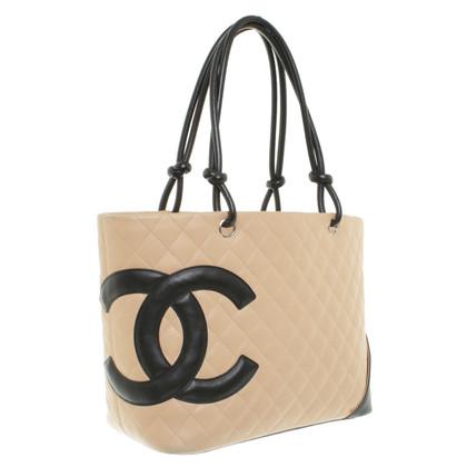 """Chanel """"Ligne Cambon Tote"""" in Beige"""