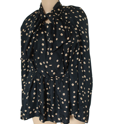 Isabel Marant Navy blue blouse