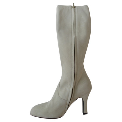 Blumarine Suede leather boots