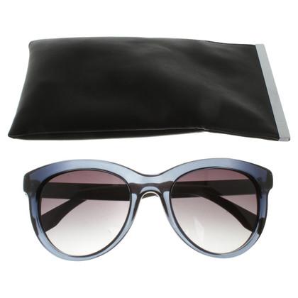 Fendi Sunglasses in blue / beige