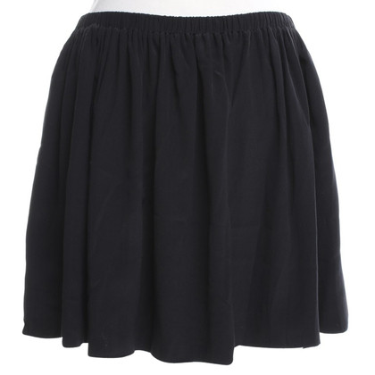 Miu Miu Silk skirt in black