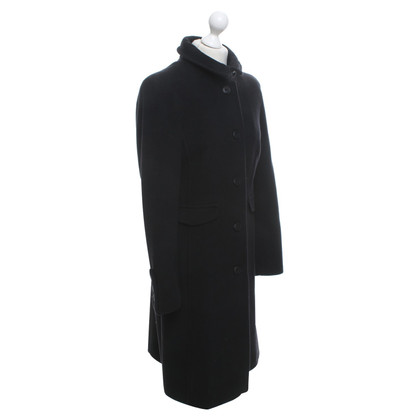 Armani Jeans Coat in black