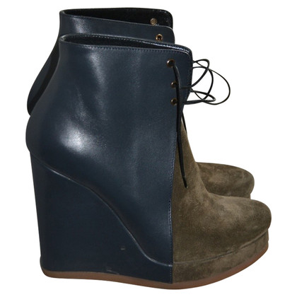 Jil Sander Ankle boots from leather/suede