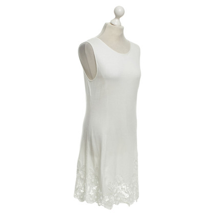 Alberta Ferretti Knitted dress in white