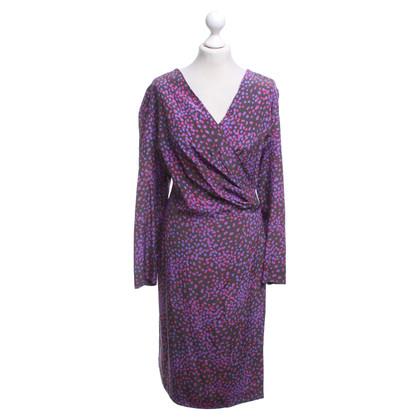 Marina Rinaldi Silk dress in multicolor