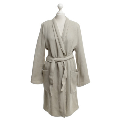 Drykorn Knitted coat in beige
