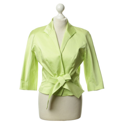 Mugler Cardigan in Apple green