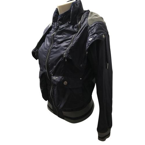 f7669ff3de70c Calvin Klein Veste   manteau en coton bleu - Acheter Calvin Klein ...
