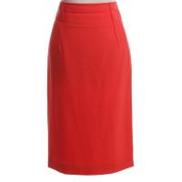 Calvin Klein gonna a matita in rosso