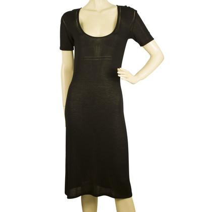 Dolce & Gabbana Black Knit Dress