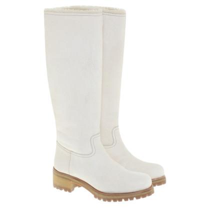 Prada Sheepskin boots