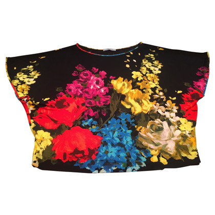 Blumarine Knit top with flowers