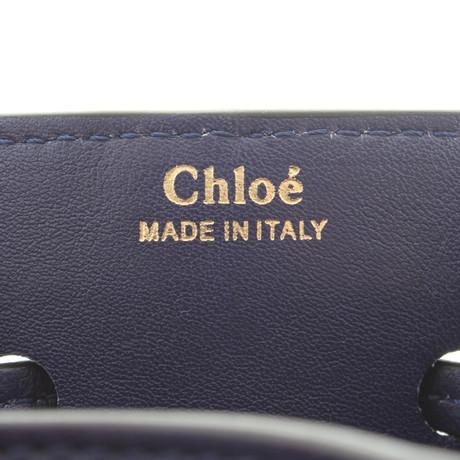 Chloé Beuteltasche aus Leder Violett Günstig Kaufen Finden Große JOwSTYhDq