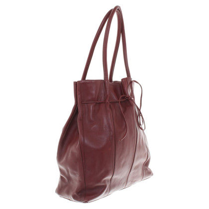 Narciso Rodriguez Leather handbag in Bordeaux
