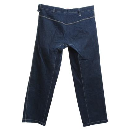 Jil Sander Jeans in donkerblauw