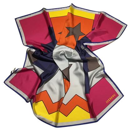 Iceberg zijden sjaal