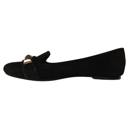 Tory Burch Slipper mit goldfarbenen Nieten