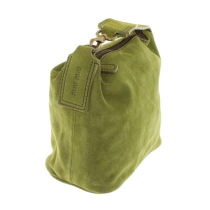 Miu Miu Handtasche aus Wildleder