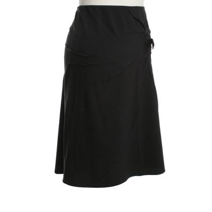 Prada Zwarte rok met strik
