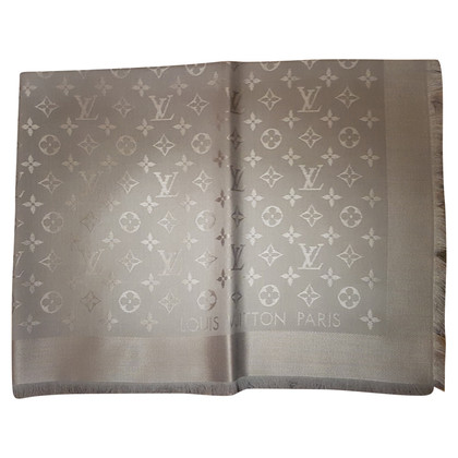 Louis Vuitton Monogram cloth in light gray