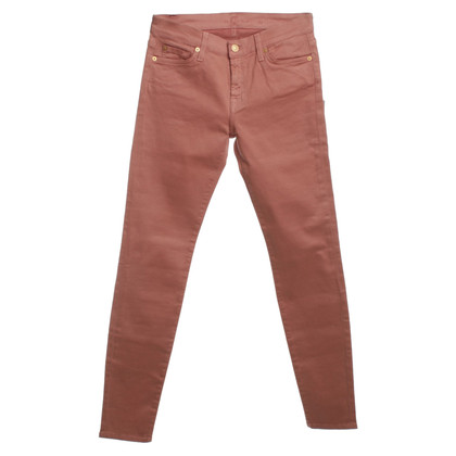7 For All Mankind Jeans in dusty pink