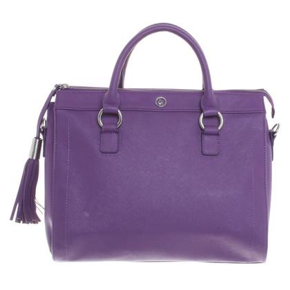 Armani Jeans Handtas in purple