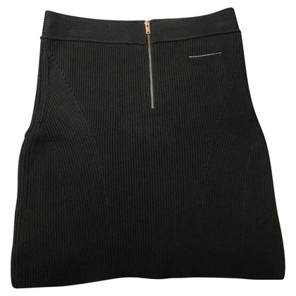 MM6 by Maison Margiela Knit skirt with rib structure