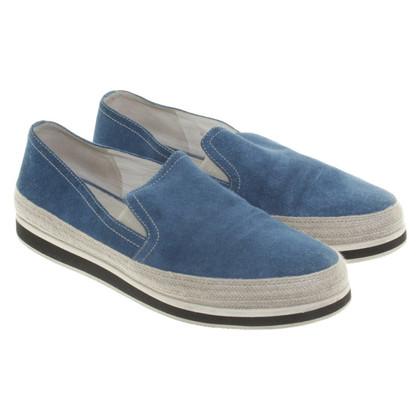 Prada Pelle scamosciata pantofola