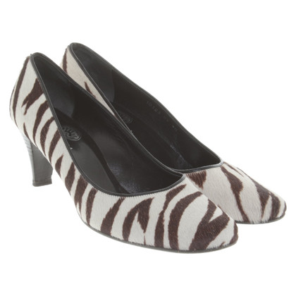 Fred de la Bretoniere pumps met patroon