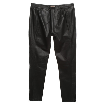 Sport Max Leather pants in black